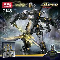 Decool 7143 Batman Movie Batman Armor Foundation Base Bricks Figure Model Set Building Block Toys Gift For Children Batman 70901