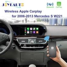 Joyeauto bezprzewodowy Apple Carplay dla Mercedes klasy S W221 2006-2013 Android Mirror Car play Adapter obsługuje dynamiczne wytyczne