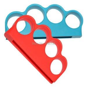 Image 3 - Nintendo anahtarı boks spor askı boks kolu kavrama Nintendo anahtarı NS için boks geliştirmek oyun deneyimi (kırmızı + mavi)
