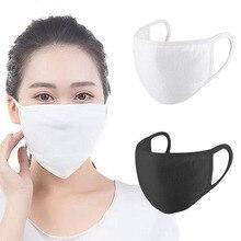 Unisex Stofdicht Winddicht Katoen Mond Masker Ademend Wasbare Mannen Vrouwen Masker Gezicht Cover