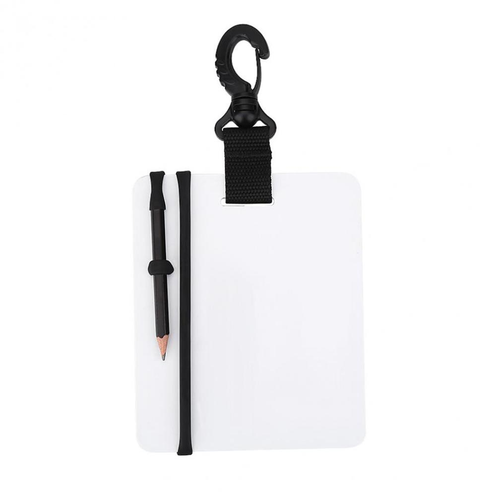 Scuba Dive Underwater Writing Slate Diving Wordpad Gear Board With Pencil