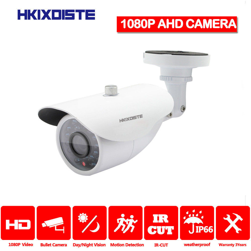 SONY AHD Camera 2MP 1080P HD Night Vision CCTV Camera IR Outdoor Waterproof Security Monitor Camera Motion Detection Alarm Alert