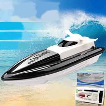 High Speed RC Boat 2.4GHz 4 Channels 30km / h Radio Remote Control RC Racing Boat Electric Toys RC Toys for Children Best Gifts(China)