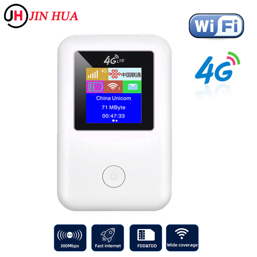 Unlocked FDD 4G Router mini Stick LTE modem 4g wifi sim card Mobile portable hotspot wifi Router Broadband Usb mifi 4g Dongle