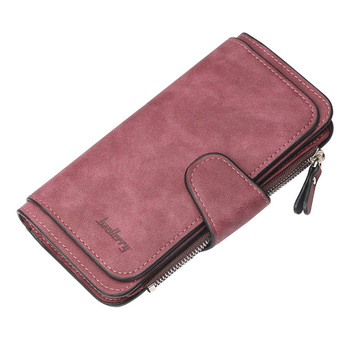 Women Wallets Name Engrave Fashion Long Leather Top Quality Card Holder Classic Female Purse  Zipper  Wallet For Women 25