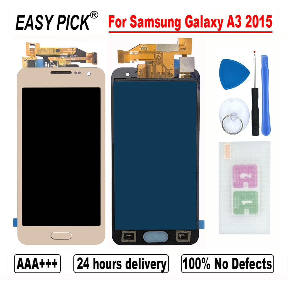 For Samsung Galaxy A3 2015 A300 A3000 A300F A300FU A300DS A300X A300F/DS A3000 LCD Display Touch Screen Digitizer Assembly