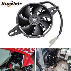 Nuoxintr Motorcycle Cooling Fan Dirt Pit Bike ATV Quad Oil Cooler Water Cooler Radiator Electric 12V 200cc 250cc 300cc