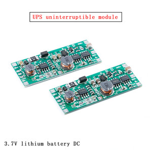DC5V-12V to 12V Charging Module for 18650 Lithium Battery UPS Voltage Converter Module UPS uninterruptible power supply control