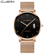 цены Men`s Quartz Watch New Stytle Men Luxury Business Watches Hodinky Alloy Strap Simple Rose Gold Dial Clock Hot erkek kol saati