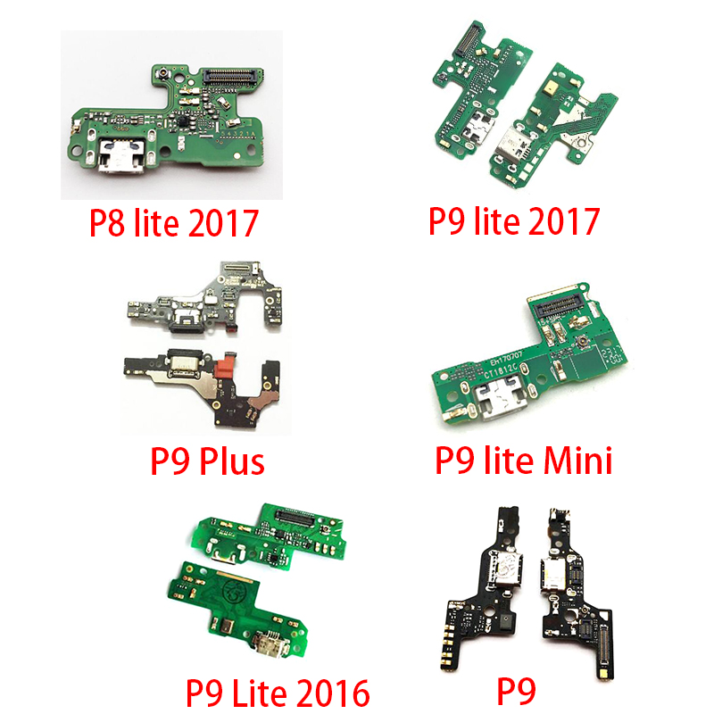 USB Charger Charging Dock Port Connector Flex Cable For Huawei P10 Plus P20 Pro P30 P9 P8 Lite 2017 Mini