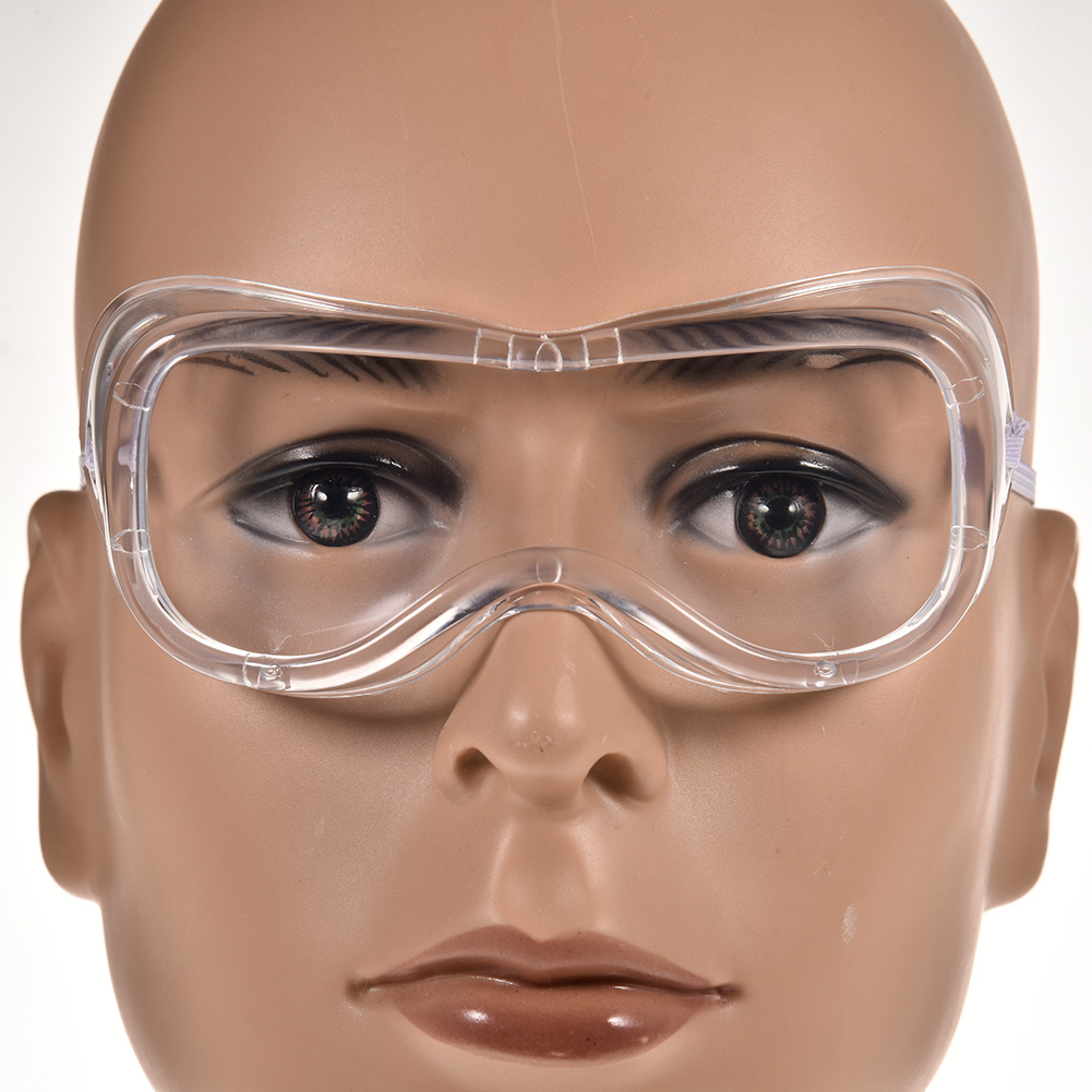 Safety Glasses Windproof Protective Goggles High Impact PPE Clear Glasses For Construction Laboratory Chemistry Class Cycling