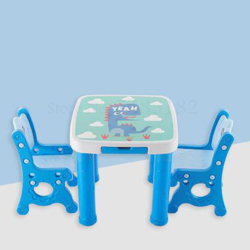 ensemble de table et chaise d apprentissage pour bebe en plastique dessin anime petite table carree pour enfant maison