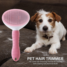 Comb Grooming-Brush Flea-Removal Pet-Hair-Trimmer Beauty-Care Cat Dogs Self-Cleaning