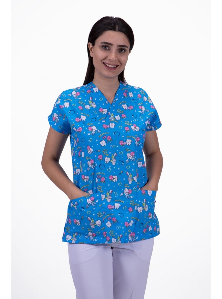 Medical Surgical Uniform Cartoon Beauty Salon Dentist Clinic Pharmacy Pet Doctor Uniforms