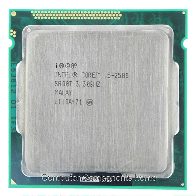 Untuk Intel Core I5-2500 I5 2500 Cpu Desktop Quad Core CPU 3.3GHz 6M Socket LGA 1155 CPU