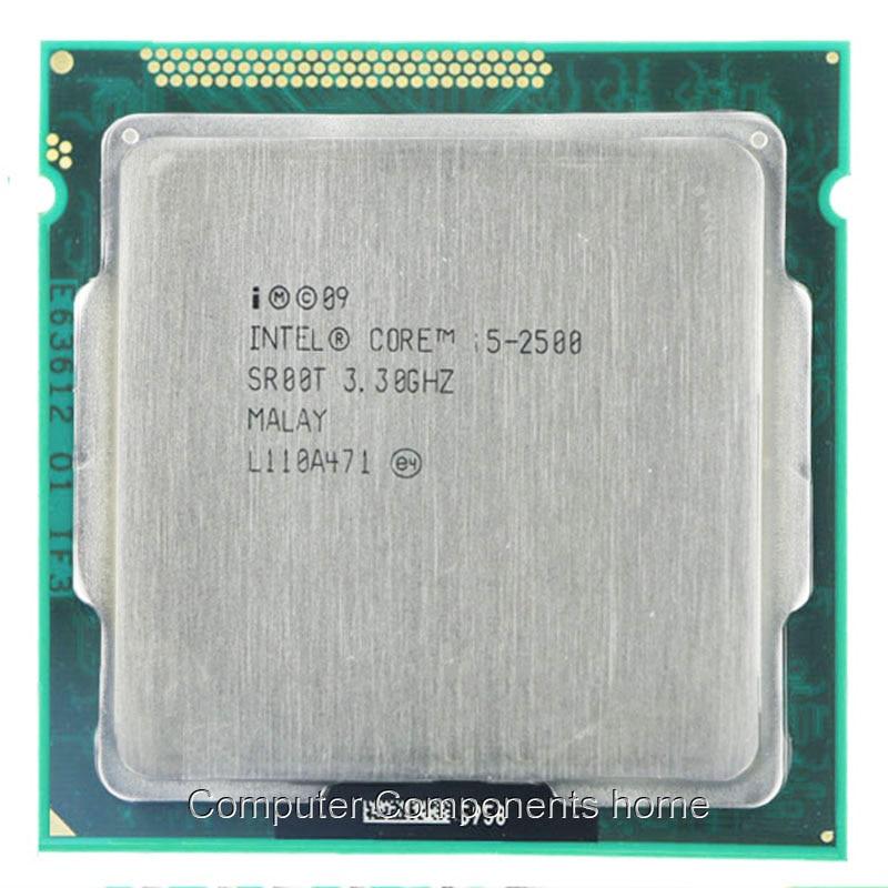 Für Intel Core i5-2500 i5 2500 CPU Desktop Quad Core CPU 3,3 GHz 6M Sockel LGA 1155 CPU