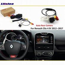Auto Backup Parkplatz Kamera Für Renault Clio 4 IV 2012 2018 2019 2020 Verbinden Original Fabrik Bildschirm Reverse Bild