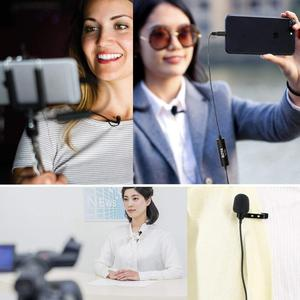 Image 5 - BOYA BY M1 3.5mm Lavalier דש מיקרופון Smartphone DSLR הקלטת וידאו שיא מיקרופון עבור iPhone 12 פרו מקס חי