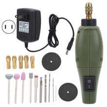 Polishing Machine Mini Electric Polisher Grinder Rotary Tool Kits Wood Carving Tools for DIY Project