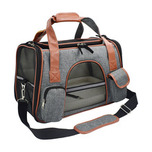 New hot cat bag Travel breathable portable car pet dog best selling supplies bubble suitcase