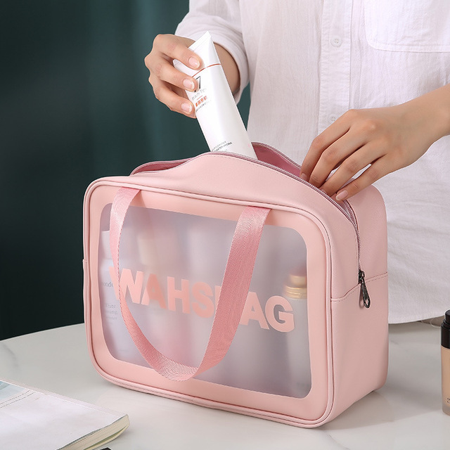 Transparent Cosmetic Storage Bag