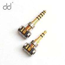 DD DJ35A DJ44A, 2.5mm 4.4 מאוזן מתאם. תחול על 2.5mm איזון אוזניות כבל, מפני מותגים כגון אסטל וקרן, FiiO, וכו .