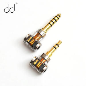 DD DJ35A DJ44A, 2.5mm 4.4 Balanced adapter. Apply to 2.5mm balance earphone cable, from brands such as  Astell&Kern, FiiO, etc.