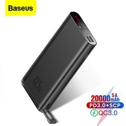 Baseus כוח בנק SCP 20000mAh פ