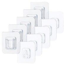 5/ 10 pces perfurador-livre não-marcação parafuso adesivos de parede imagem gancho invisível traceless drywall quadro pendurado gancho kit