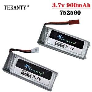 3.7V 900mah 752560 Battery For