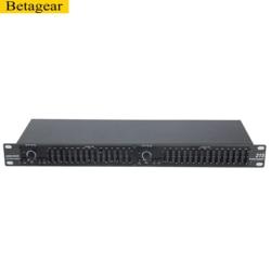 Betagear 2x 15 band stereo equalizer Dual graphic equalizer EQ215 recording studio equipment equipos de musica sound system