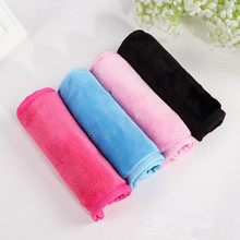 Reusable Microfiber Facial Cloth Face Towel Natural Antibacterial Protection Makeup Remover 40*17cm Cleansing Beauty Wash Tools