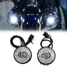 цена на Strobe LED Foglights Kit For Honda Goldwing GL1800 GL 1800 2018-2020 2019 Motorcycle