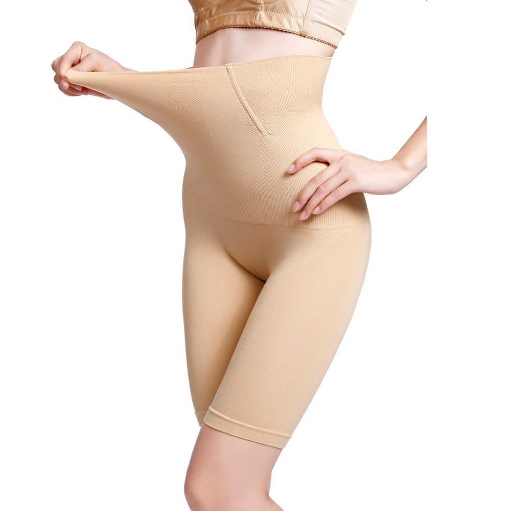 CXZD Shapewear für Frauen Bauch-steuer Shorts Hohe Taille Panty Mittleren Oberschenkel Body Shaper Body Gestaltung Dame