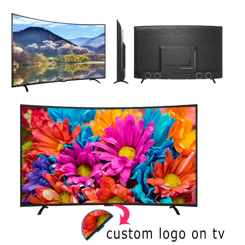 Free shipping-matrix tv 40 inch tv smart television led curved screen tv android  with wifi