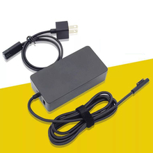 Basix 15V 2.58A 44W Tablet Charger EU Plug Power Adapter for Microsoft Surface pro 3 4 5 ( i5/i7) with USB charging Port