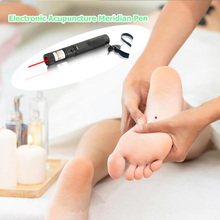 Electronic Meridian Acupuncture Energy Pen Laser Pulse Therapy Pain Relief Massager Pen Health Care acupuncture health pen meridian body massager pain relief therapy electronic hot selling