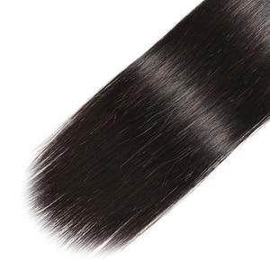 Image 5 - Panse שיער מלזי שיער שיער טבעי הרחבות ישר שיער מותאם אישית 8 30 סנטימטרים שאינו רמי יכול להיות צבע צבע 1B 1PCS להרבה