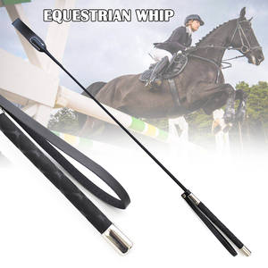 Horseback Riding Whips Lash-Supplies Equestrian Durable 51cm Lightweight More