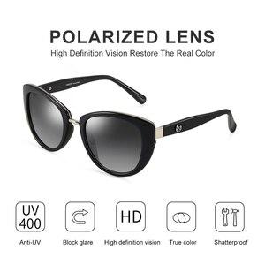 Image 2 - PARZIN Fashion Elegant Womens Sunglasses Style High Quality Brand Designer UV400 Sunglasses Women Polarized Hot Sale
