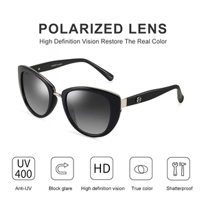 Image 2 - PARZIN Fashion eleganckie damskie okulary przeciwsłoneczne w stylu wysokiej marka jakości projektant UV400 okulary przeciwsłoneczne damskie spolaryzowane gorąca sprzedaż
