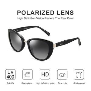 Image 2 - Parzinファッションエレガントな女性のサングラススタイルの高品質ブランドデザイナーUV400サングラス女性偏光ホット販売