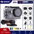 Оригинальная экшн-камера EKEN H9/H9R, Ultra HD, 4K, 30 FPS, Wi-Fi, 2.0 дюйма, 170D, подводная водонепроницаемая камера, спортивная камера для шлема Vedio, GoPro