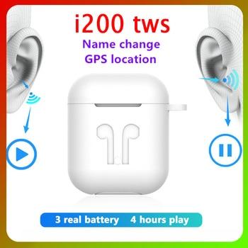 I200 TWS Air Earbuds Noise Cancelling Headset Tap Control Earphone PK Super X I30 I60 I90 I100 Audifonos Bluetooth Headphones