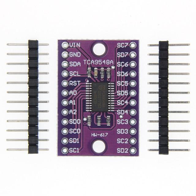 10 шт. CJMCU 9548 TCA9548 TCA9548A 1 to 8 IEC 8 way многоканальный Плата расширения IIC модуль макетная плата