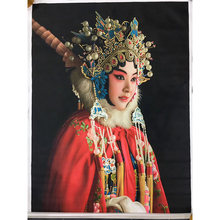 100% Hand Painted Beijing Opera Character Oil Painting On Canvas Wall Art Wall Adornment Picture Painting For Room Home Decor dsbc 63 100 ppsa n3 cylinder beijing sales beijing general agent