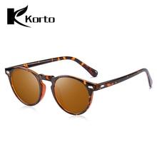 Korto Women Polarized Sunglasses Round TR90 Frame 2019 Brand Designer Small Driving Sunglasses Oculos De Sol Zonnebril Dames