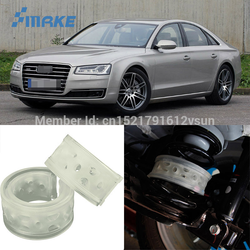 smRKE For <font><b>Audi</b></font> <font><b>A8</b></font> Car Auto <font><b>Shock</b></font> Absorber Spring Buffer Bumper Power Cushion Damper Front/Rear High Quality SEBS image