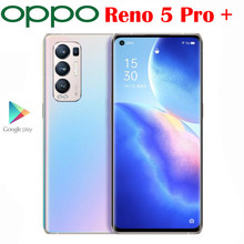 Nuevo Original oficial OPPO Reno 5 Pro + Plus + 5G Smartphone Snapdragon 865 de 6,55 pulgadas AMOLED 50MP 4500Mah Cámara 65W SuperVOOC NFC
