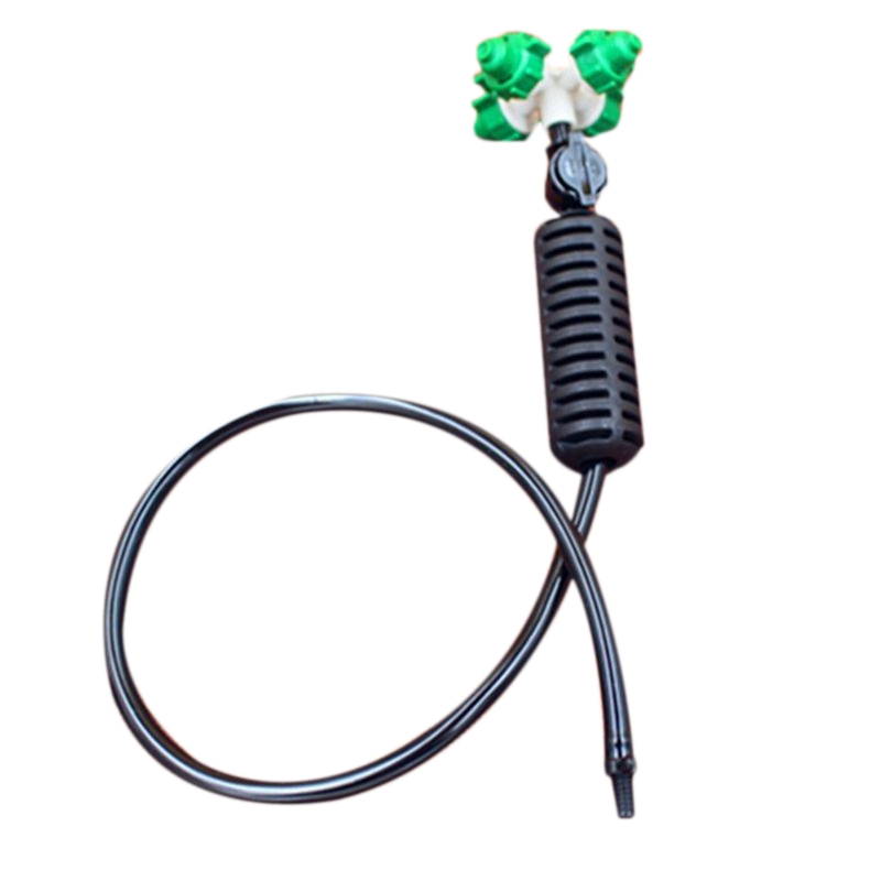 5Set/Lot Cross Atomizing Nozzle Hanging Type Sprinkler Cross Nozzle Suit Greenhouse Irrigation Atomized Spray Irrigation Suits|Watering Kits| |  - title=